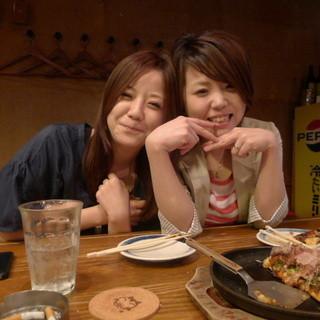 ご宴会は飲み放題付きで3800円からございます!