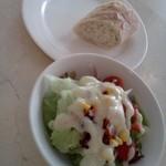 Capo PELLICANO - パンとサラダ