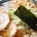 満び - 料理写真:醤油味のら~めんは子供にも大人気!