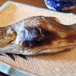 鱒の家 - 塩焼き。