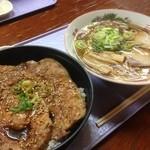 きくち食堂 - 豚丼セット900円