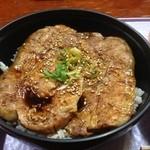きくち食堂 - 豚丼セットの豚丼