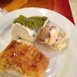 スイーツパラダイス - モンブラン、抹茶シフォン、プリンロール