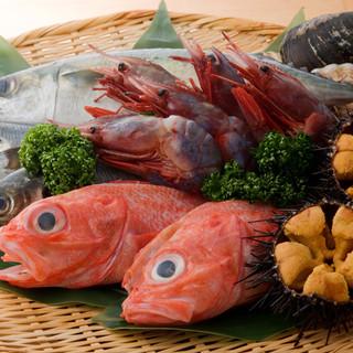 東北、宮城を堪能できる地魚と地酒を豊富に取り揃えています