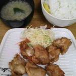 相模屋 - からあげ定食¥500