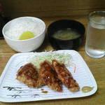 相模屋 - チキンかつ定食¥500