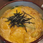 松月 - ヴィッセル定食(玉子丼)