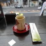 銀座 鹿乃子 - テーブルセッティング
