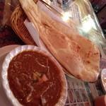 サンジュ - 本日のおすすめエリンギとひき肉のカレー