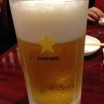 焼肉ギュウミー - 男前ビール 980円。