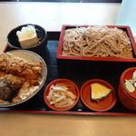 まつや - 天丼セット(950円)