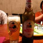 タヴェルナ クアットロ - イタリアビールモレッティ900円