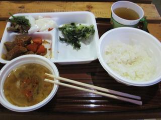 赤岳天望荘 - 夕食