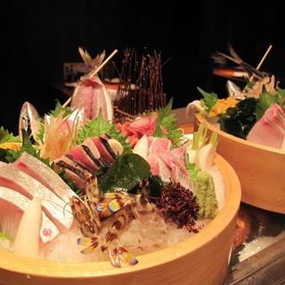 美味しいお魚料理と活気あるスタッフでお迎えします。