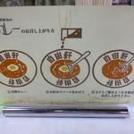 大阪難波 自由軒 - 2013.08 食べ方の解説がテーブルにありました:笑