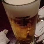 瑠璃の間 - ビールはプレモル!