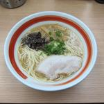 麺屋 中川 - 博多豚骨らーめん(700円)