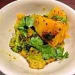 カレーライス ディラン - 南瓜とブロッコリーの炒め