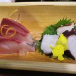 魚鮮 - ハマチと蛸