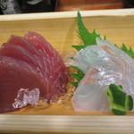魚鮮 - カツオと平目
