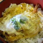 伊勢福 - 料理写真:天とじ丼
