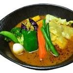 lavi - ラビオリto野菜カレー