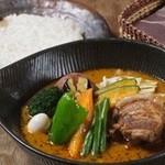 lavi - 角煮to野菜カレー