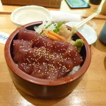 福寿し - づけマグロ丼¥1050