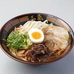 博多三氣 - ピリ辛味噌とんこつの『げん氣ラーメン』