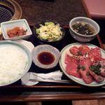 20411960 - カルビ タン塩定食