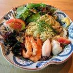 レストラン潮 - 海鮮冷麺(1200円)