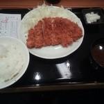 20415154 - ロースかつ定食¥700