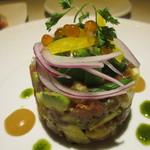 Bistro ナナカマド - 鮮魚とアボカドのタルタル
