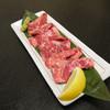 向日葵 - 料理写真:『まぼろしステーキ白(塩、わさび)』牛一頭から0.1%もとれない超超レアなお肉を贅沢にステーキに!