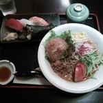ほうせい丸 - かき氷・冷やしタンタン麺セット