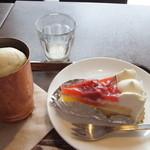上島珈琲店 - ケーキセット