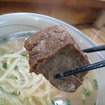鉄板焼 和 - 甘辛く、ほどける食感の豚角