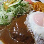とんとん亭 - ハンバーグ定食
