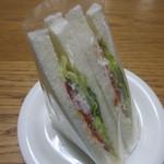 まるじゅう - 野菜サンド 180円