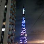20422335 - 東京タワーを見ながらお店まで急ぎます。