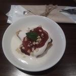 Affidamento Cafe - サービスのケーキ