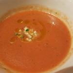 ル・クープル - トマトの味が爽やかなガスパチョ!