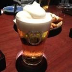 月の宴 - フローズン生ビール