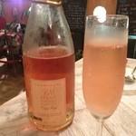 20424793 - ロゼのシャンパーニュで乾杯