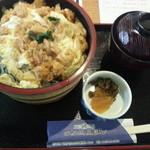 磯よし - ウニ丼(卵とじ)