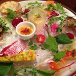 ル・アイ - 夜の前菜の盛り合わせ