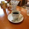 サニイサイド - 料理写真:セットのホットコーヒー
