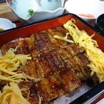 鰻料理 たけだ - 鰻重定食(上)