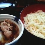 こめんこ屋 - 肉汁うどん 2013.8