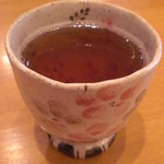 甘露七福神 - 夏だけど、温かいお茶を出してくれます♪